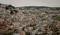 © London News Pictures. 14/03/2011. The Silwan area of occupied east-Jerusalem in Israel. A predominantly palestinian area with Israeli settlements. New Israeli settlements were recently announced despite their illegality under international law. 13/03/11