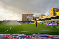 Football - 2020 / 2021 Sky Bet League One - AFC Wimbledon vs Wigan Athletic - Plough Lane<br /> <br /> A general view of Plough Lane, home of AFC Wimbledon FC.<br /> <br /> COLORSPORT/ASHLEY WESTERN