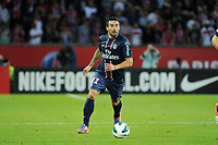 FOOTBALL - FRIENDLY GAMES 2012/2013 - TROPHEE DE PARIS - PARIS SAINT GERMAIN v FC BARCELONA - 04/08/2012 - PHOTO JEAN MARIE HERVIO / REGAMEDIA / DPPI - EZEQUIEL LAVEZZI (PSG)