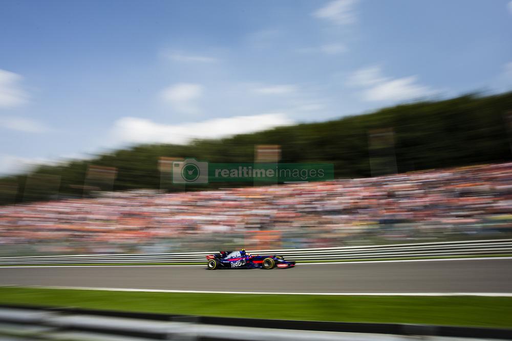August 27, 2017 - Spa, Belgium - 26 KVYAT Daniil from Russia of team Toro Rosso during the Formula One Belgian Grand Prix at Circuit de Spa-Francorchamps on August 27, 2017 in Spa, Belgium. (Credit Image: © Xavier Bonilla/NurPhoto via ZUMA Press)