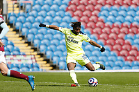 Football - 2020 / 2021 Premier League - Burnley vs. Newcastle United<br /> <br /> Allan Saint-Maximin of Newcastle United scores his side's second goal to put his side 2-1 ahead, at Turf Moor.<br /> <br /> <br /> COLORSPORT/ALAN MARTIN
