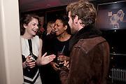 RUTH WILSON; NAOMIE HARRIS; LUKE TREADAWAY, InStyle Best Of British Talent , Shoreditch House, Ebor Street, London, E1 6AW, 26 January 2011