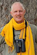 Portrait of photographer Staffan Widstrand, photo by Liisa Widstrand, Hwange National Park, Zimbabwe