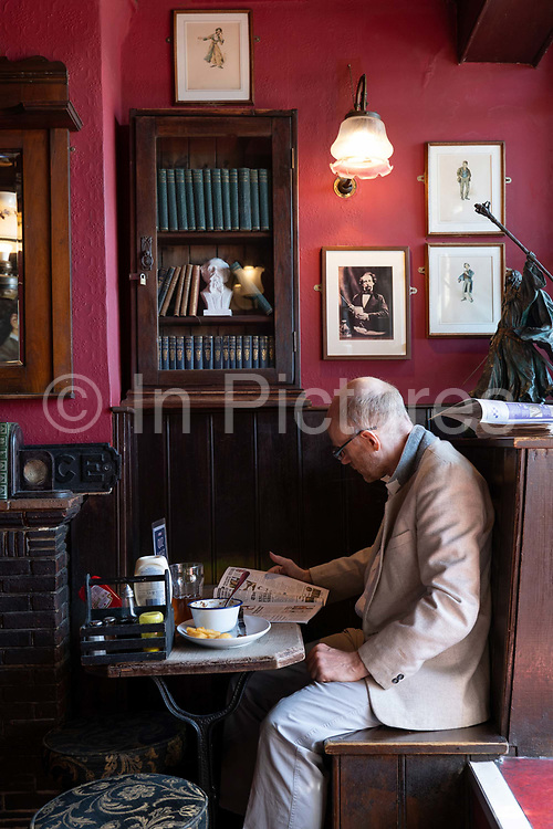 The Grapes pub on the 20th September 2019 in London in the United Kingdom.