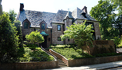 The 8,200-square-foot, nine-bedroom home in Washington's Kalorama neighborhood where President Obama and his family will live after he leaves office next year on May 26, 2016 in Washington, DC.Photo by Olivier Douliery/ABACAPRESS.COM