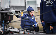 Image licensed to Lloyd Images. Free for editorial use. <br /> Pictures of Official Practice Day 24.07.15 - Sir Ben Ainslie (GBR) oboard Land Rover BAR Racing Team skippered by Sir Ben Ainslie (GBR) <br /> Credit: Lloyd Images