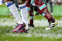 26 October 2016 - EFL Cup - 4th Round - West Ham v Chelsea - Football boots surrounded by bubbles - Photo: Marc Atkins / Offside.