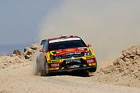 MOTORSPORT - WRC 2010 - JORDAN RALLY - 31/03 TO 03/04/2010 - DEAD SEA (JOR) - PHOTO : FRANCOIS BAUDIN / DPPI - <br /> PETTER SOLBERG (NOR) / PHIL MILLS (GBR) - PETTER SOLBERG WRT - CITROEN C4 WRC - ACTION°
