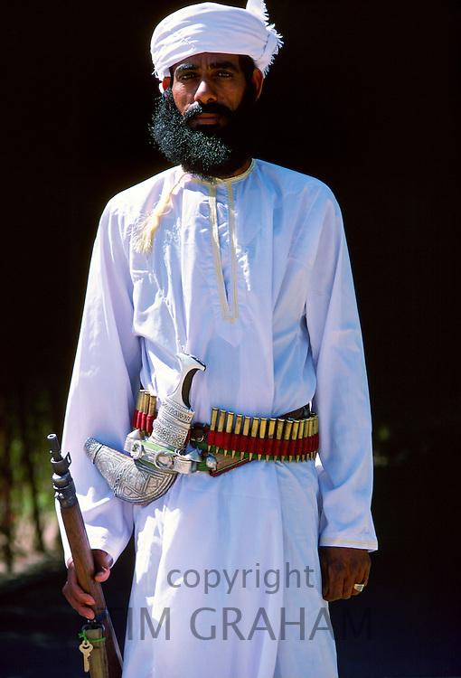 Guard, Nizwa, Oman.