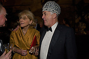 ANNE SEBBA; SIR CHRISTOPHER BLAND, The Royal Shakespeare Company (Stratford) fundraising dinner and auction to benefit company's Artists' Development Programme. Lawrence Hall, Greycoat St. London. 28 October 2008 *** Local Caption *** -DO NOT ARCHIVE-© Copyright Photograph by Dafydd Jones. 248 Clapham Rd. London SW9 0PZ. Tel 0207 820 0771. www.dafjones.com.