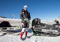 31.08.2016, Stilfserjoch, Prad, ITA, OeSV Training, Anna Veith, im Bild Anna Veith (AUT) beim Training nachdem sie die abgelaufene Saison wegen einer schweren Knieverletzung komplett pausieren hatte müssen. // Anna Veith of Austria during a practice Session. Ten months after her knee injury as a result of serious crash in Soelden, the Olympic champion Anna Veith (formerly Fenninger) is back in the snow training at the Stilfserjoch in Prad, Italy on 2016/08/31. EXPA Pictures © 2016, PhotoCredit: EXPA/ Johann Groder