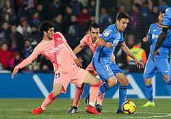 January 6, 2019 - Getafe, Madrid, Spain - Alena of Barcelona in action during the spanish league, La Liga, football match between Getafe and Barcelona on January 06, 2019 at Coliseum Alfonso Perez in Getafe, Madrid, Spain. (Credit Image: © AFP7 via ZUMA Wire)