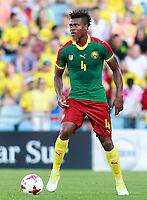 Cameroon's Adolphe Teikeu during international friendly match. June 13,2017.(ALTERPHOTOS/Acero)