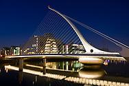 Photographer: Paul Lindsay Samuel Beckett Bridge, Dublin