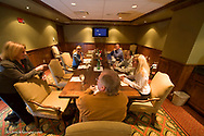Meeting room at the Lodge at Whitefish Lake Resort model released