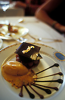 Restaurant Le Grand Vefour, Paris, France..interior, food detail..© Owen Franken