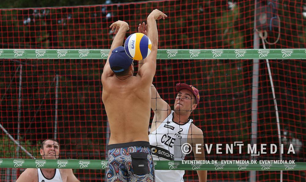Qualification at MEVZA Prague Open 2016 at Beachclub Strahov in Prague, Czech Republic on 29.6.2016. (Allan Jensen/EVENTMEDIA)