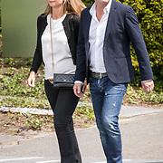 NLD/Bilthoven/20170706 - Uitvaart Ton de Leeuwe, ex partner Anita Meyer, Jeroen van der Boom en partner Dany de Wit