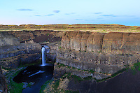 Photography of the water fall and the surrounding region at Palouse Falls State Park.  Palouse Falls is the official waterfall of Washington State.<br /> <br /> ©2016, Sean Phillips<br /> http://www.RiverwoodPhotography.com