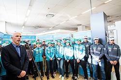Simon Jan of Cross country team during press conference of Slovenian Nordic Ski team before new season 2017/18, on November 14, 2017 in Gorenje, Ljubljana - Crnuce, Slovenia. Photo by Vid Ponikvar / Sportida