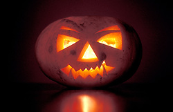 Hallowe'en pumpkin UK