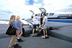 Boarding Plane For Bimini