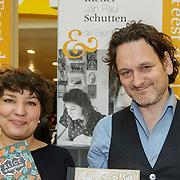 NLD/Amsterdam/20150228 - Feest der Letteren 2015, Floor Rieder en Jan Paul Schutten