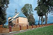 Cerkiew greckokatolicka, parafialna, p.w. św. Paraskewii w Stefkowej - obecnie kościół rzymskokatolicki p.w. NP Marii.