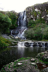 Cachoeira dos Rodrigues, em São José dos Ausentes - RS  . FOTO: Eduardo Rocha/Preview.com