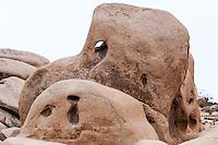 United States, California, Joshua Tree National Park. Skull Rock.