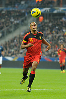 FOOTBALL - FRIENDLY GAME 2011 - FRANCE v BELGIUM - 15/11/2011 - PHOTO JEAN MARIE HERVIO / DPPI - VINCENT KOMPANY (BEL)
