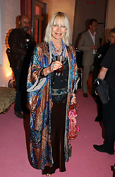 VIRGINIA BATES at a dinner hosted by Harpers Bazaar to celebrate the launch of the fragrance Flowerbomb by Viktor & Rolf held at Elms lester, Flitcroft Street, London WC2 on 31st May 2006.<br /><br />NON EXCLUSIVE - WORLD RIGHTS