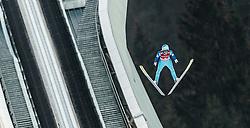 06.01.2016, Olympiaschanze, Garmisch Partenkirchen, GER, FIS Weltcup Ski Sprung, Vierschanzentournee, Bewerb, im Bild Michael Hayboeck (AUT) // Michael Hayboeck of Austria during his Competition Jump of Four Hills Tournament of FIS Ski Jumping World Cup at the Olympiaschanze, Garmisch Partenkirchen, Germany on 2016/01/01. EXPA Pictures © 2016, PhotoCredit: EXPA/ JFK