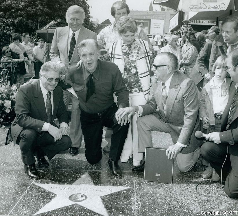 1976 Stuart Hamlin's Walk of Fame ceremony