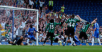 Photo: Daniel Hambury.<br />Chelsea v Glasgow Celtic. Pre Season Friendly. 09/08/2006.<br />Celtic's Gary Caldwell (5, far right) celebrates scoring the first goal. 0-1.