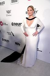 Erika Christensen attending the Elton John AIDS Foundation Viewing Party held at West Hollywood Park, Los Angeles, California, USA.