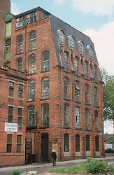 Victorian warehouses in Radford; Nottingham,