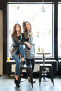 Nicole Salvo and Erin Thacker of Native Cold Pressed juices. (Will Shilling/Capital Style)