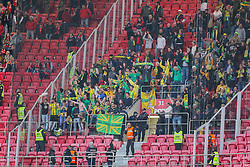 April 30, 2018 - Na - Lisbon, 04/28/2018 - Sport Lisboa e Benfica received this afternoon at the Estádio da Luz in Lisbon, CD Tondela in the 32nd matchday of the NOS Primera Liga, season 2017/2018. Claque do Tondela  (Credit Image: © Atlantico Press via ZUMA Wire)