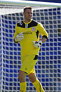 Cardiff city goalkeeper David Marshall in action. Pre season friendly match, Cardiff city v Athletic Club Bilbao at the Cardiff city stadium in Cardiff,  South Wales on Saturday 10th August 2013. pic by Andrew Orchard,  Andrew Orchard sports photography,
