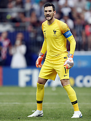 France goalkeeper Hugo Lloris during the 2018 FIFA World Cup Russia Final match between France and Croatia at the Luzhniki Stadium on July 15, 2018 in Moscow, Russia