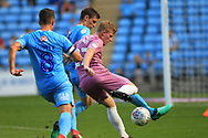 Andy Cannon shapes to shoot during the EFL Sky Bet League 1 match between Coventry City and Rochdale at the Ricoh Arena, Coventry, England on 1 September 2018.