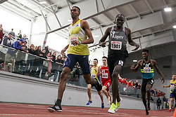 BU Terrier Indoor track meet<br /> Sam Ellison, BAA beats Eliud Rutto, Army, 800m