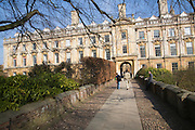 Clare College, University of Cambridge, England