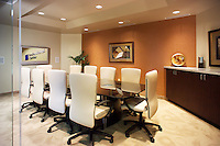 Conference room for rent in a shared office space