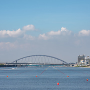 View down the course <br /> <br /> Final races at the 2019 Junior Worlds, on the Sea Forest Waterway, Tokyo, Japan. Sunday 11 August 2019  © Copyright photo Steve McArthur / www.photosport.nz