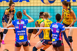 18-05-2019 GER: CEV CL Super Finals Igor Gorgonzola Novara - Imoco Volley Conegliano, Berlin<br /> Igor Gorgonzola Novara take women's title! Novara win 3-1 /  Mariam Fatime Sylla #17 of Imoco Volley Conegliano