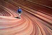 "The Wave, Coyote Buttes, Paria Canyon-Vermilion Cliffs Wilderness Area, Arizona. Published in ""Light Travel: Photography on the Go"" book by Tom Dempsey 2009, 2010. For licensing options, please inquire."