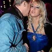 NLD/Baarn/20100107 - Nationaal Songfestival 2010, Johnny Logan in gesprek met Peggy Mays