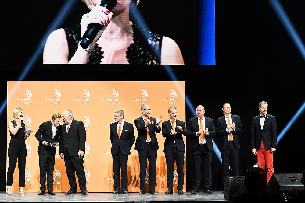 Siegerehrung SwissSkills 2018. Organisatoren. © Manu Friederich